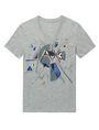 ARMANI EXCHANGE Retro Shape Logo Tee Graphic T-shirt Man d