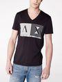 ARMANI EXCHANGE Shutter Shade Logo Tee Graphic T-shirt Man f