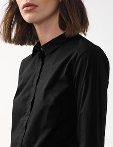 ARMANI EXCHANGE Tailored Poplin Shirt Button Down Shirt Woman e