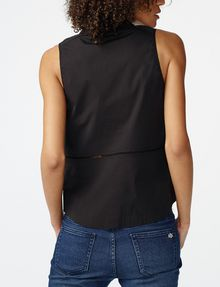 ARMANI EXCHANGE Seamed Poplin Popover Shell Woman r