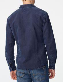 ARMANI EXCHANGE Pigment-Dyed Button-Down Shirt Long sleeve shirt U r