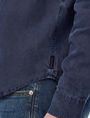 ARMANI EXCHANGE Pigment-Dyed Button-Down Shirt Long sleeve shirt U e