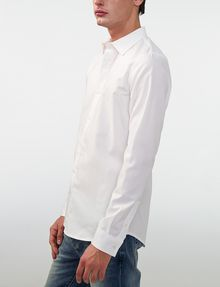 ARMANI EXCHANGE Textured No-Iron Slim-Fit Shirt Long sleeve shirt [*** pickupInStoreShippingNotGuaranteed_info ***] d