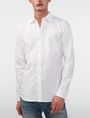 ARMANI EXCHANGE Textured No-Iron Slim-Fit Shirt Long sleeve shirt [*** pickupInStoreShippingNotGuaranteed_info ***] f