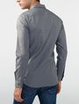 ARMANI EXCHANGE Textured Cotton Shirt Long sleeve shirt [*** pickupInStoreShippingNotGuaranteed_info ***] r