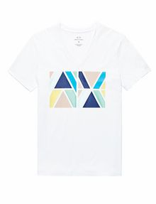 ARMANI EXCHANGE A|X Tesselate Tee Graphic Tee U d