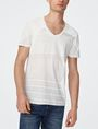 ARMANI EXCHANGE Tonal Stripe Tee Graphic T-shirt U f