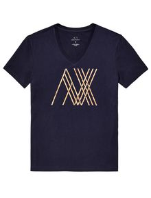 ARMANI EXCHANGE Pickup Sticks Tee Graphic T-shirt Man d