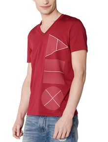 ARMANI EXCHANGE Geometry Icon Logo Tee Graphic Tee U f