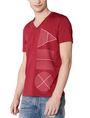 ARMANI EXCHANGE Geometry Icon Logo Tee Graphic T-shirt Man f