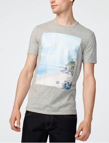 ARMANI EXCHANGE Serene Scene Tee Graphic Tee U f