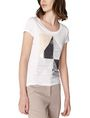 ARMANI EXCHANGE Nature Foil Graphic Tee Graphic T-shirt Woman f