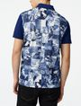 ARMANI EXCHANGE Aerial Camo Polo SHORT SLEEVES POLO U r