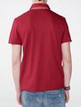 ARMANI EXCHANGE Grid Detail Polo Shirt Short-sleeved polo U r