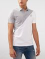 ARMANI EXCHANGE Diagonal Colorblock Logo Polo Short-sleeved polo U f