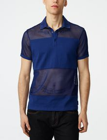 ARMANI EXCHANGE Mesh Mix Polo Short-sleeved polo U f