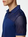 ARMANI EXCHANGE Mesh Mix Polo Short-sleeved polo U e
