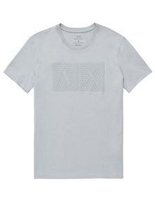 ARMANI EXCHANGE Triangulation Logo Tee Graphic T-shirt U d