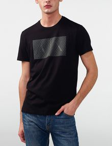 ARMANI EXCHANGE Triangulation Logo Tee Graphic Tee U f