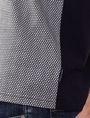ARMANI EXCHANGE Pattern Block Pocket Polo Short-sleeved polo U e