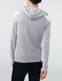 ARMANI EXCHANGE Jersey Stitch Colorblock Hoodie Zip-up U r