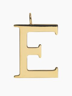 E - Alphabet bag pendant