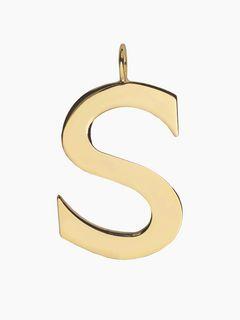 Charm Alphabet pour sac<span>S - Charm Alphabet pour sac</span>