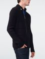 ARMANI EXCHANGE Textured Stitch Packable Hood Jacket Zip-up Man d