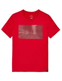 ARMANI EXCHANGE Under Construction Graphic Tee Graphic T-shirt Man d