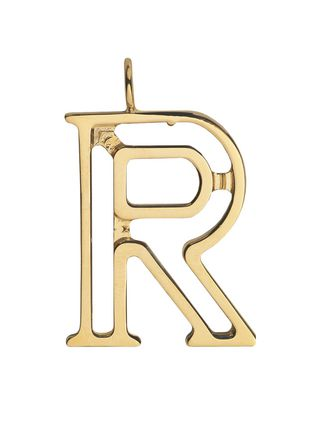 R - Alphabet bag pendant