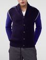 ARMANI EXCHANGE Textured Ottoman-Stitch Cardigan Cardigan U f