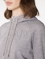 ARMANI EXCHANGE Shrunken Logo Hoodie Hoodie Woman e