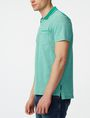 ARMANI EXCHANGE Bicolor Pique Pocket Polo SHORT SLEEVES POLO U d