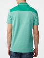 ARMANI EXCHANGE Bicolor Pique Pocket Polo SHORT SLEEVES POLO U r