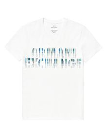 ARMANI EXCHANGE Future Exchange Logo Tee Graphic T-shirt U d