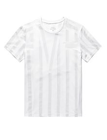 ARMANI EXCHANGE Tape Stripe Tee Graphic Tee U d