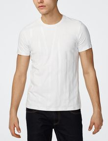 ARMANI EXCHANGE Tape Stripe Tee Graphic T-shirt Man f