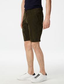 ARMANI EXCHANGE Accent Zip Tech Shorts Chino Short U d