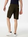 ARMANI EXCHANGE Accent Zip Tech Shorts Chino Short Man r