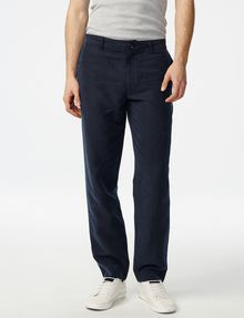 ARMANI EXCHANGE Linen Tencel Trouser Chino U f