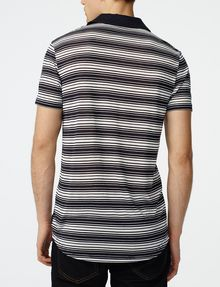 ARMANI EXCHANGE Multi-Stripe Polo Short-sleeved polo U r