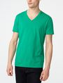 ARMANI EXCHANGE Pima V-Neck Tee Short Sleeve Tee Man f