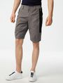 ARMANI EXCHANGE Contrast Zip Print Shorts  Utility Short Man f