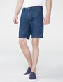 ARMANI EXCHANGE Linen Blend Short Dress Short Man f