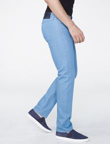 ARMANI EXCHANGE Light Blue Straight-Fit Pant Straight Fit Denim U d