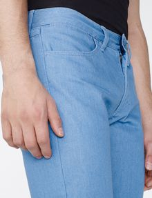 ARMANI EXCHANGE Light Blue Straight-Fit Pant Straight Fit Denim U e