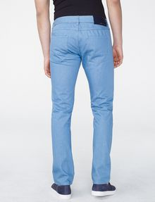 ARMANI EXCHANGE Light Blue Straight-Fit Pant Straight Fit Denim U r