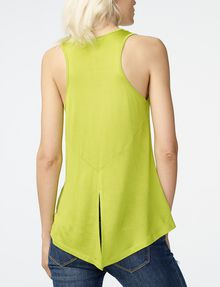 ARMANI EXCHANGE Seamed High-Low Tank Tank top D r