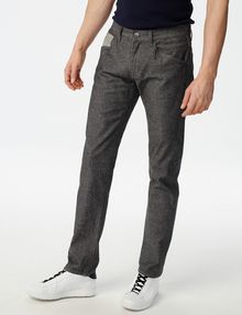 ARMANI EXCHANGE Grey Straight-Leg Trouser Jean Straight Fit Denim U f