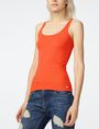 ARMANI EXCHANGE Ribbed Racerback Tank Tank top D f